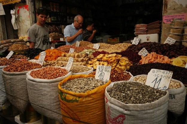 Mahane Yehuda market, Jerusalem - Israël