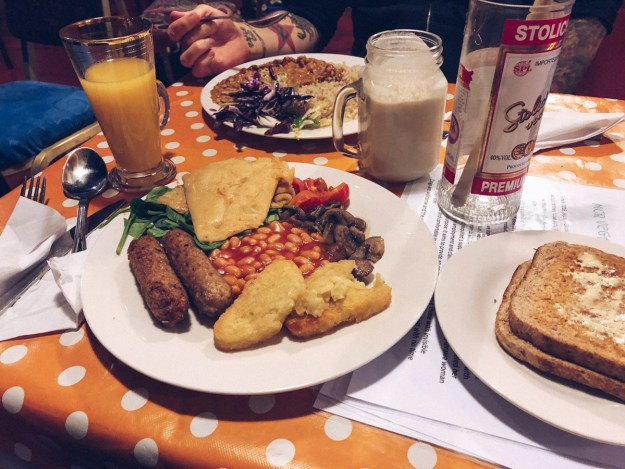 vegan cafe manchester