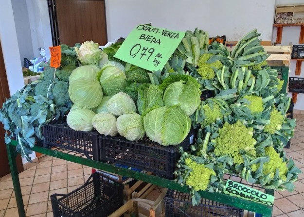vegan in rome: markets