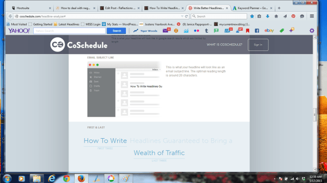 Co-Schedule helps you analyze whether your post will be opened in an Email