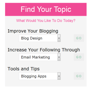 Bloggers can find blogging resources by following the SITS Girls