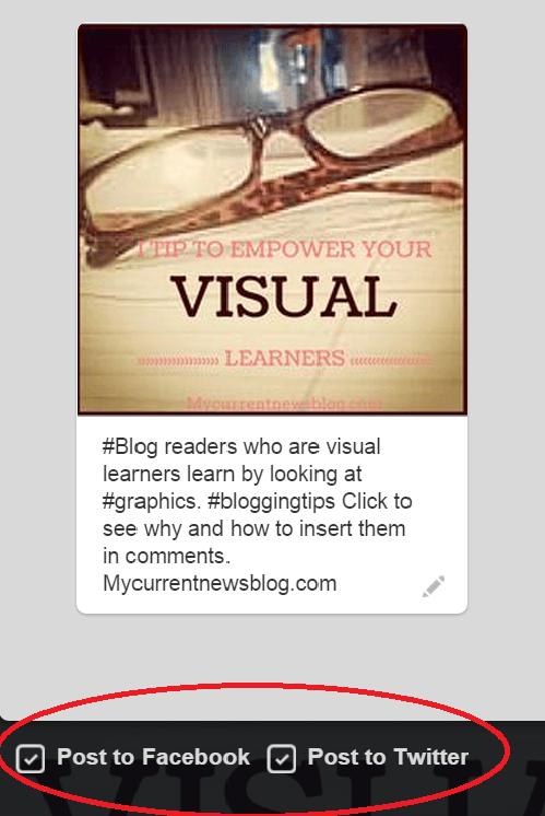 Pinterest screen shot
