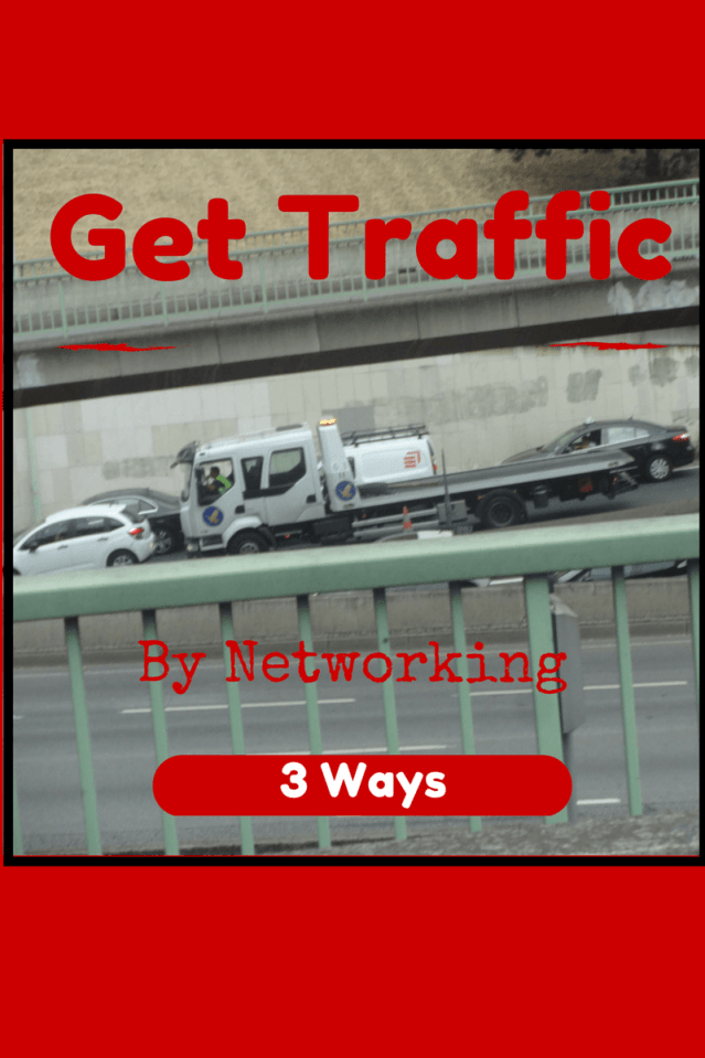 Networking leads to blog traffic