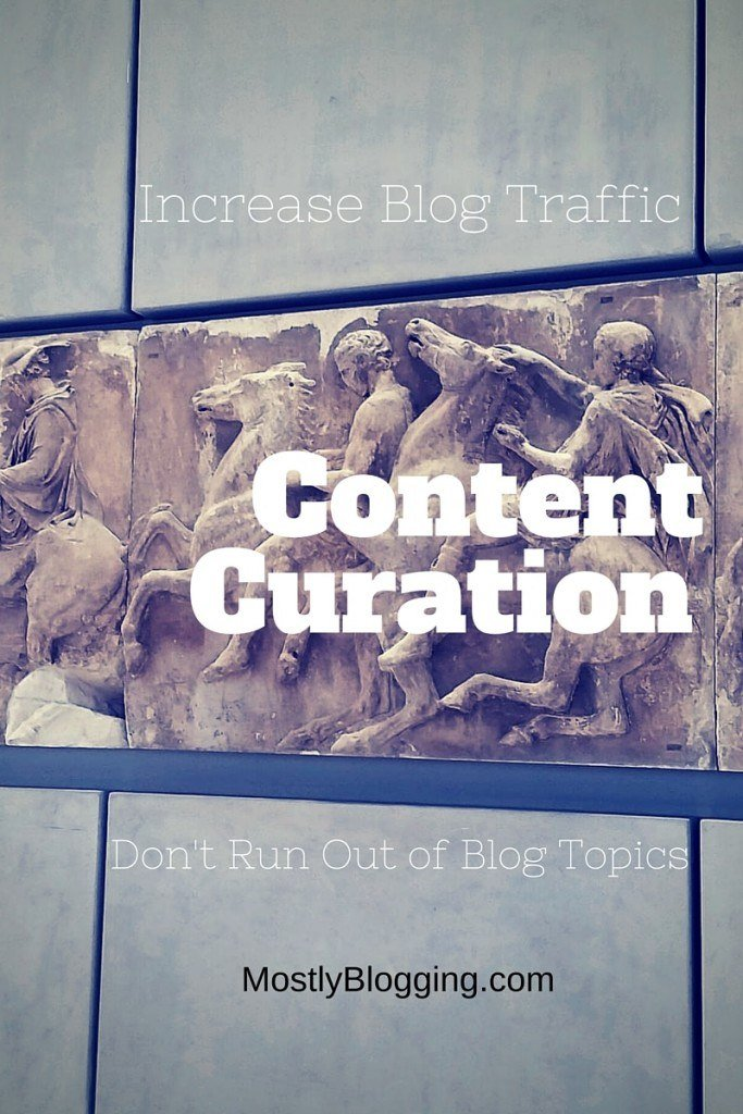 Content Curation helps bloggers remember topics and increase traffic.