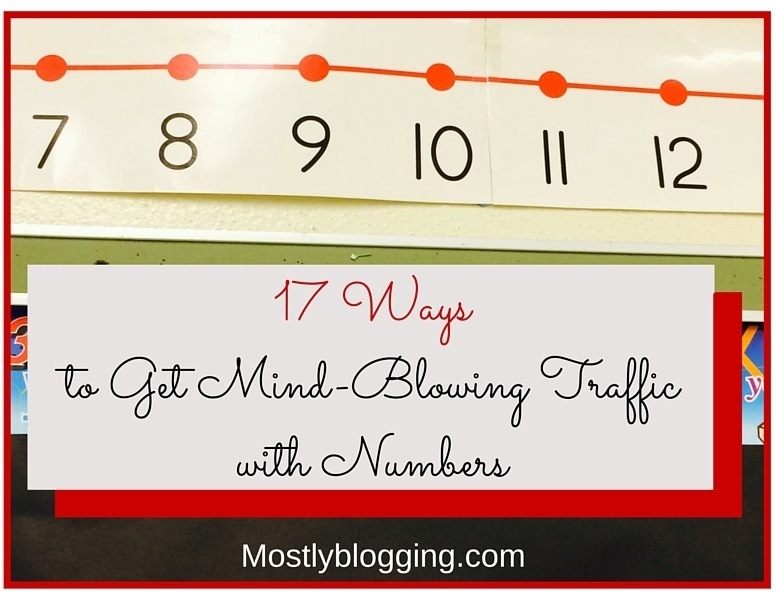 Blog Traffic with Numbers