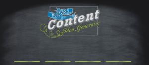 Portent blog idea generator