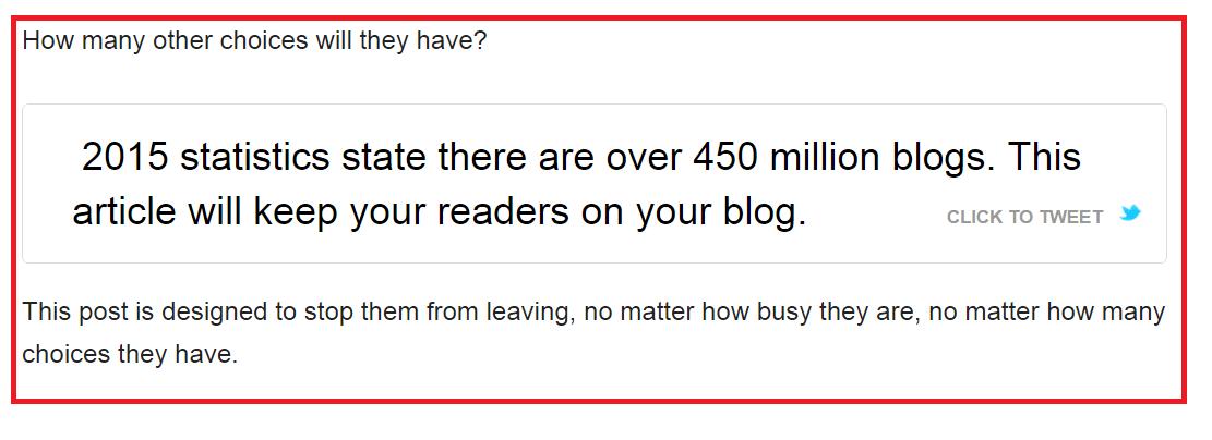 Sticky Blogging, Step 2