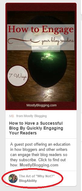 #Pinterest for #Bloggers