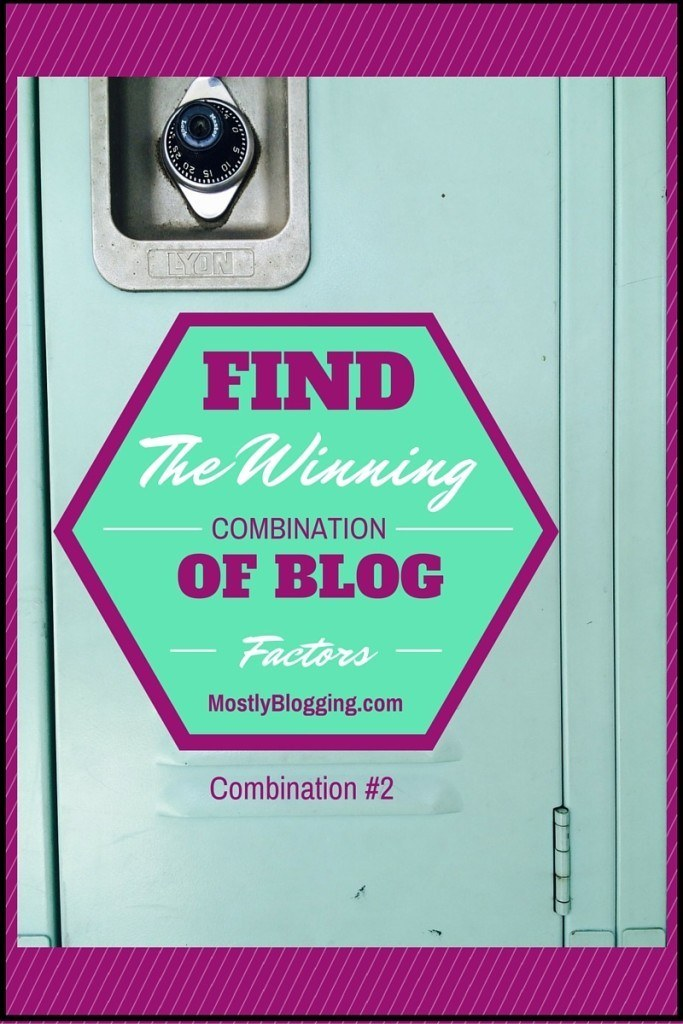 The right #blog combinations will get you massive traffic #bloggingtips