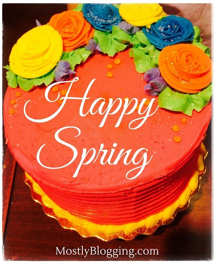 Blog Party Happy Spring