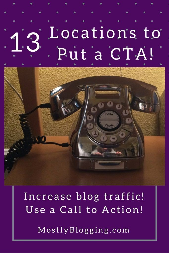 Increase #blogging stats with a Call to action