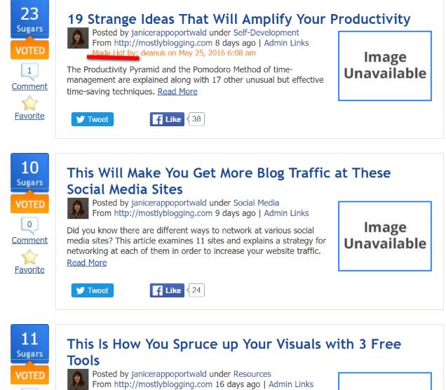 BizSugar helps bloggers get blog trafficand get #blogging help