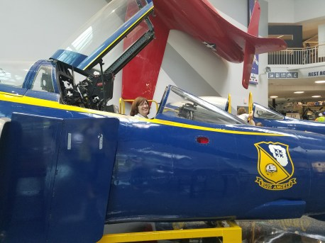 As well as Grandma's dream to be a Blue Angel!