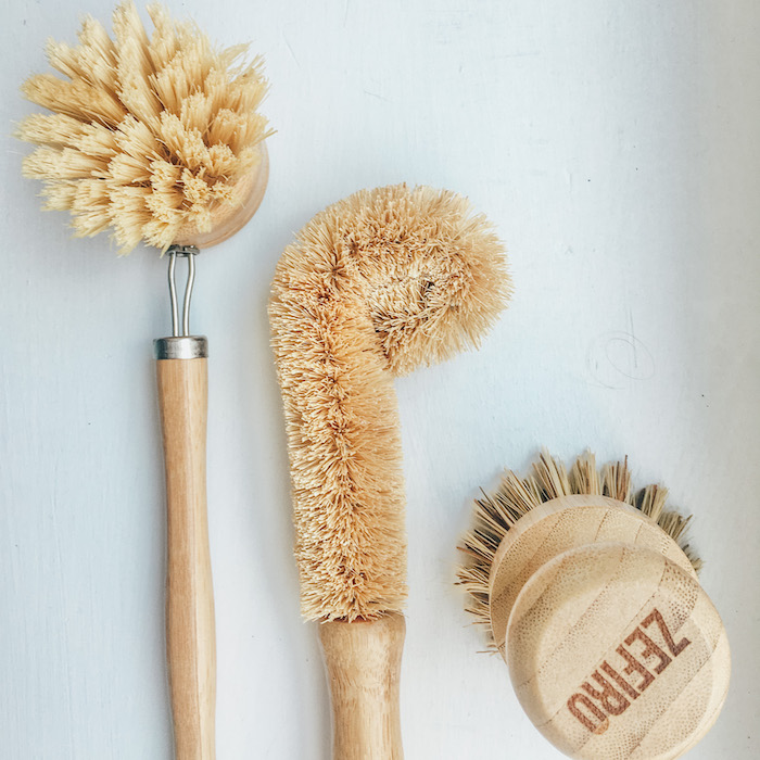 10 Easy Low Waste Swaps | bamboo scrubbers