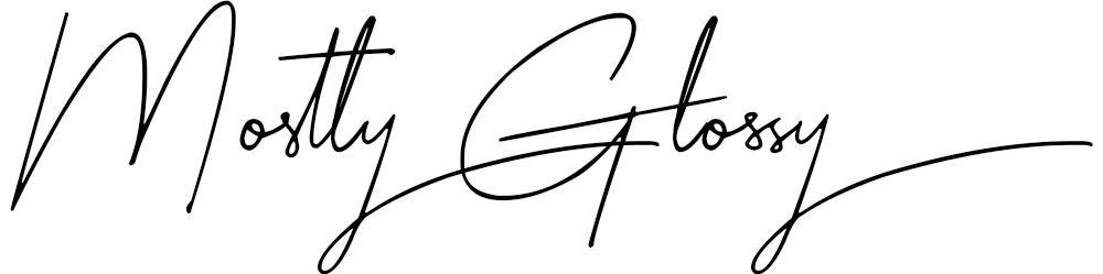 MostlyGlossy Logo
