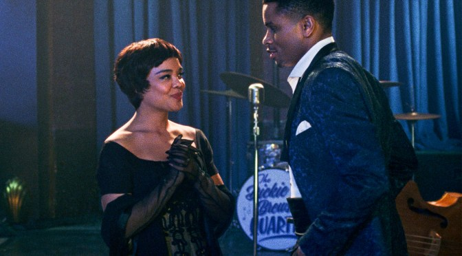 Eugene Ashe Revisits Old Hollywood glamour in Sylvie's Love