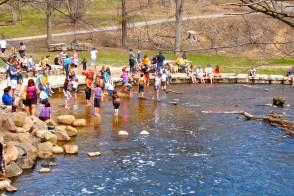 Minnesotans loving this warm April day