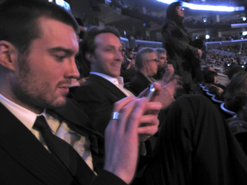 Pete & Chad twittering