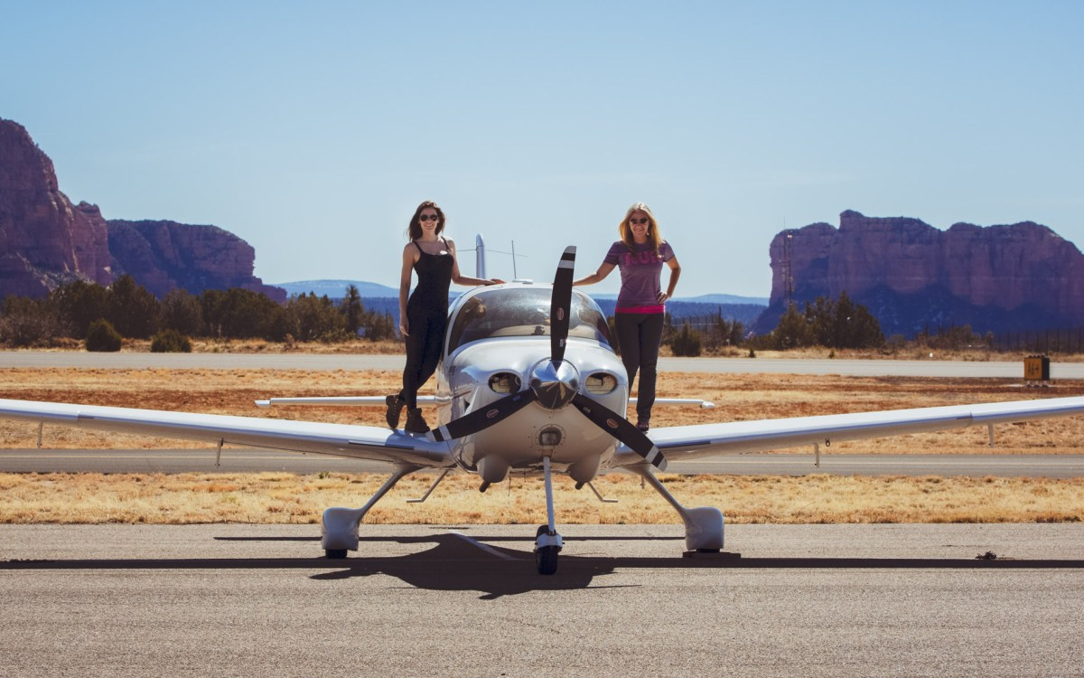 My First Flying Adventure in a Cirrus SR20 with Jessica Ambats