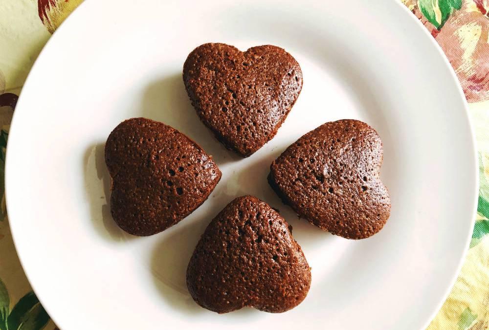 Chocolate Brownies Full of Love