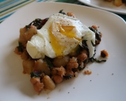 Moroccan-inspired breakfast