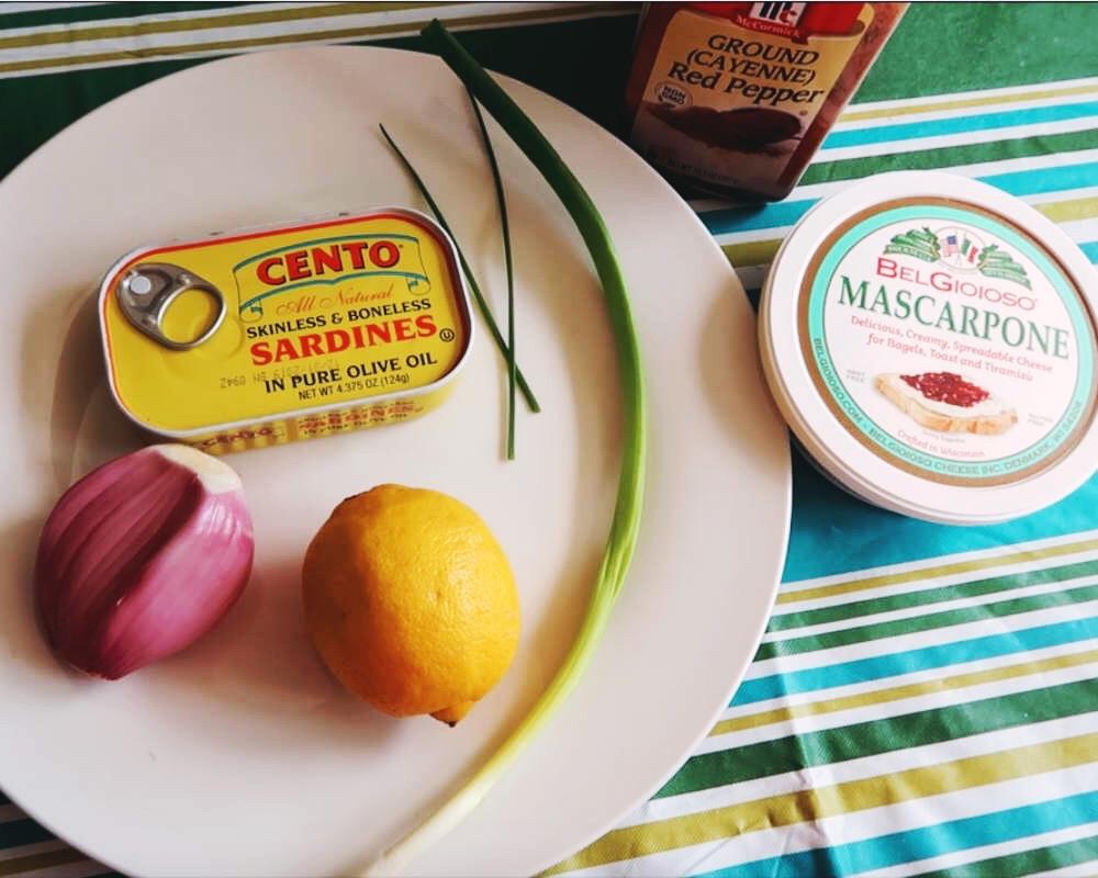 sardine pâté ingredients