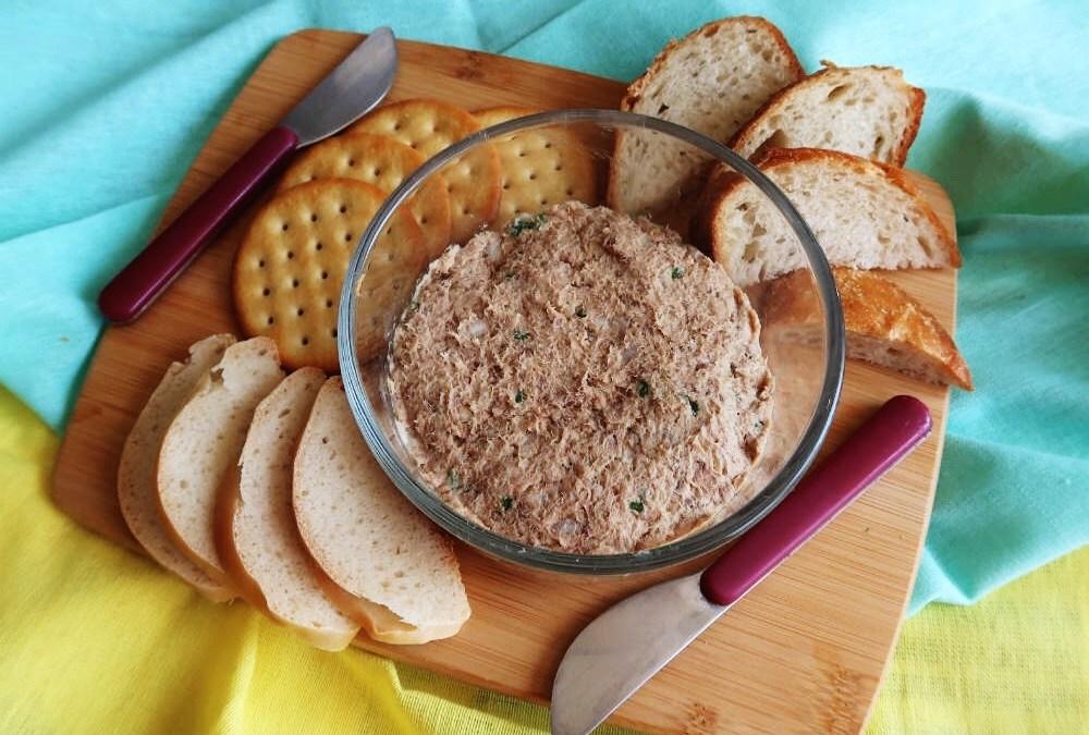 Sardine Pâté – A Healthy Snack