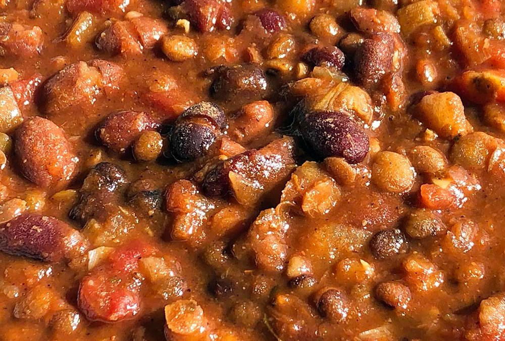 Vegetarian Chili – You Can Also Make This Vegan