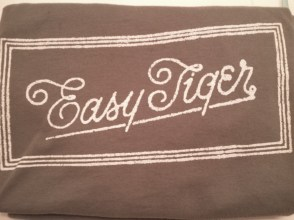 Tshirt for Easy Tiger bakery