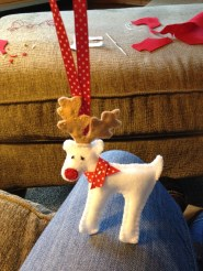 Does this look like a reindeer or a dog?