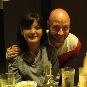 Nishihata-san and me