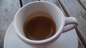 Cup of Espresso with Foam