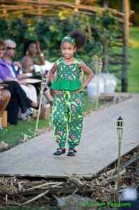 (DE-FI) Child Model wears Kerapa Kids at (DE-FI) Presents: Fashion In The Mystic Garden