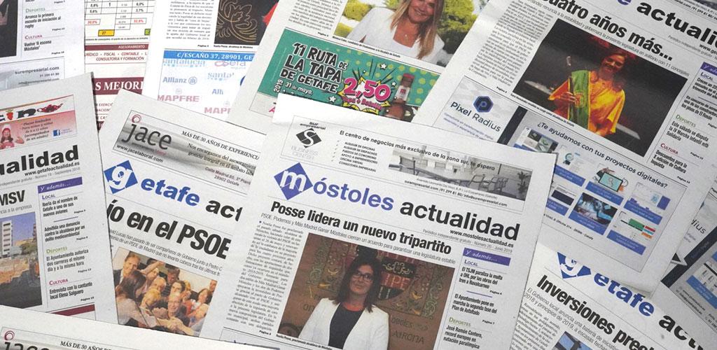 Móstoles Actualidad se mantiene fiel a sus lectores y no interrumpe su edición impresa