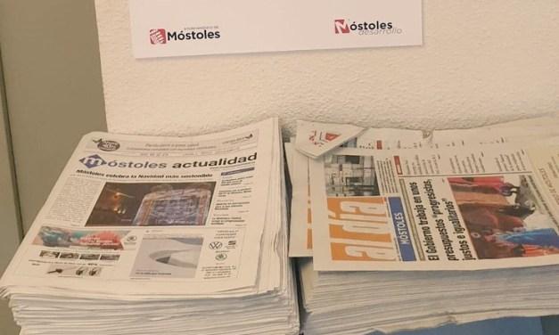 Los medios nacionales se hacen eco del 'secuestro' de Móstoles Actualidad por parte del Gobierno de Posse