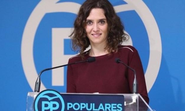El PP de Ayuso barre en las elecciones autonómicas