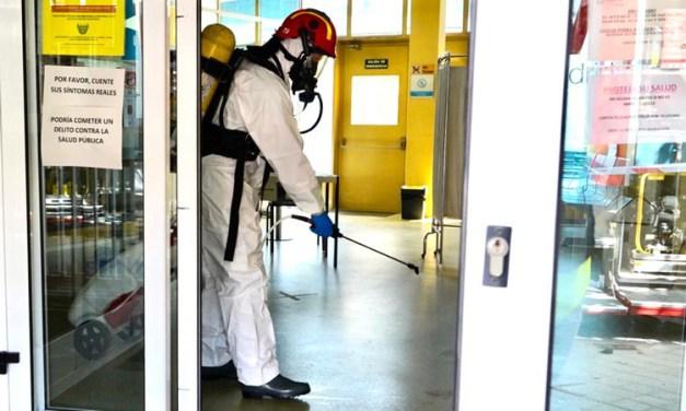 Móstoles realiza una campaña de limpieza extraordinaria en los colegios antes del inicio del curso