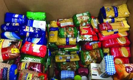 Los vecinos de Móstoles donan 8.000 kilos de alimentos al comedor social Simón de Rojas