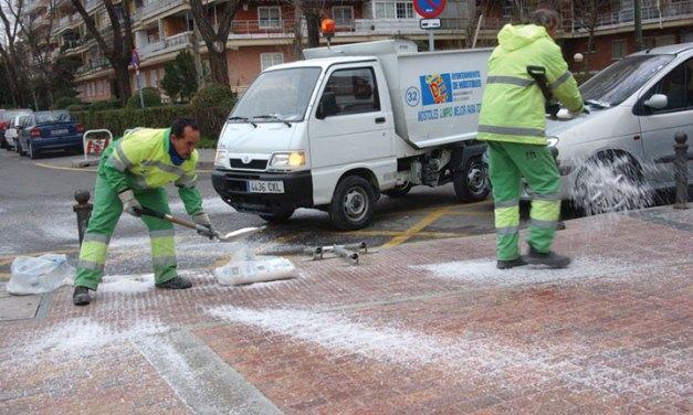 Activado el Plan invernal contra las heladas y nevadas con 50 toneladas de sal