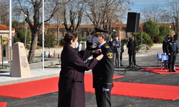 La Policía Local de Móstoles recibe la Medalla de plata al Mérito de la Comunidad de Madrid por su trabajo durante la crisis sanitaria
