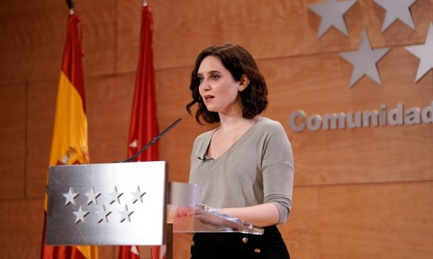 Díaz Ayuso anuncia el fin de todas las restricciones de aforo por COVID-19 en Madrid desde el próximo lunes