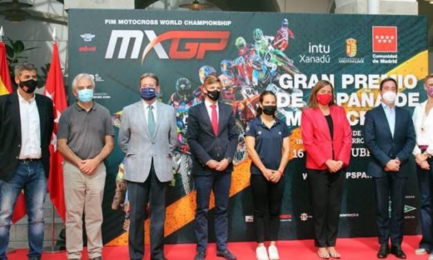 Llega el Gran Premio de España de Motocross a intu Xanadú