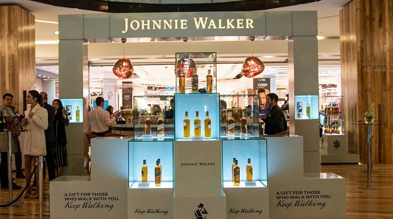 Jonhnnie Walker Pop Up Store