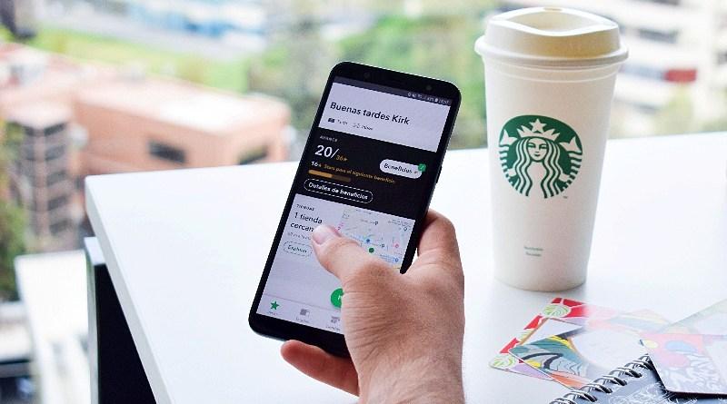 Aplicación Starbucks Chile
