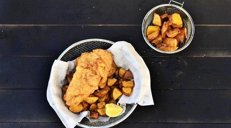 Fish & chips al estilo londinense