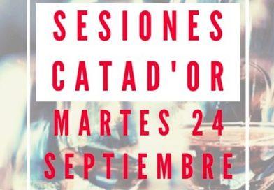 Nacen las «Sesiones Catad'Or»