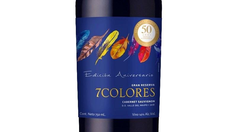 Viña 7Colores embotelló un vino especialmente para Supermercado Diez