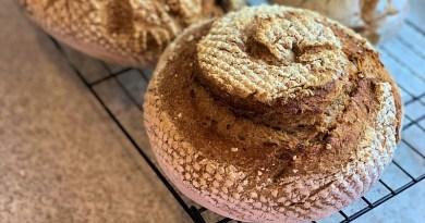 El pan de masa madre es algo sano y nutritivo que puedes elaborar en estos días de cuarentena
