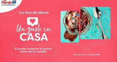 """Debido a los días complejos que vive la gastronomía nacional, Soprole Food Professionals lanzó la campaña """"Un Gusto en Casa""""."""