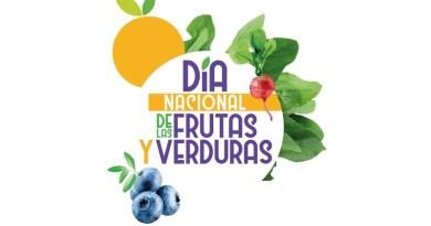 Hoy se celebra la cuarta versión del Día Nacional de las Frutas y Verduras